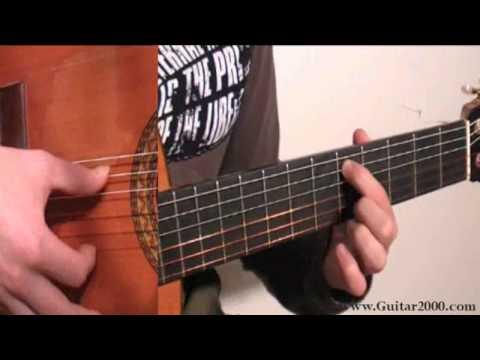 Aprender a tocar la guitarra leccion 1 - Demo