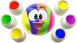 Mirror Painting Colors With WonderBalls by Cartoon Candy