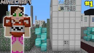 Minecraft - City - BUILDING BREAK IN CHALLENGE