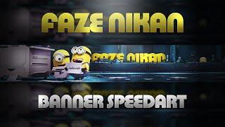 getlinkyoutube.com-'FaZe Nikan' - YouTube Banner Speedart