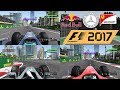 F1 2017 Car Comparison - F1 2004 vs F1 2010 vs F1 2017