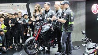 getlinkyoutube.com-Launching Yamaha M-SLAZ 150 with Pol Espargaro in Thailand International Motor Expo 2015