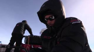 Massey Ferguson Day 12 of Antarctica2: Nicolas & team refuel