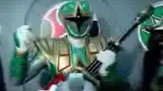 getlinkyoutube.com-Ninja Storm and Dino Thunder Megazords