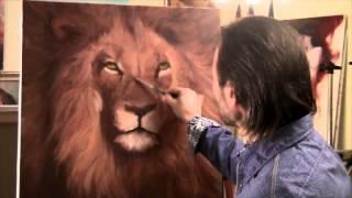 """getlinkyoutube.com-FREE! English subtitles! Full version of """"How to draw a lion"""" Igor Saharov"""