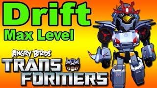 getlinkyoutube.com-Angry Birds Transformers: New Update DRIFT Unlocked / MAX Level