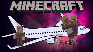 getlinkyoutube.com-Minecraft 1.10.2: How To Make A Working Airplane [Moving]+[No Mods]+[1 Minute]