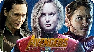 getlinkyoutube.com-THE AVENGERS 3 INFINITY WAR Movie Preview 3: Who Will Be In The Movie? (2018)