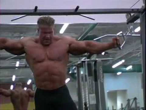 jay cutler workout training video 2012