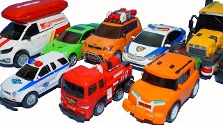 getlinkyoutube.com-또봇 장난감 충돌하면 뻥!! 또봇 스매시카 C,X,R 소방차 경찰차 헬로카봇 충돌놀이 Tobot Smash Car Toys