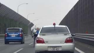 getlinkyoutube.com-千葉県警察本部 ヤル気まんまんな千葉北高速インプ