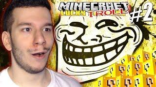 getlinkyoutube.com-LUCKY TROLL 2! w/Tech4Play (Minecraft Lucky Skywars)