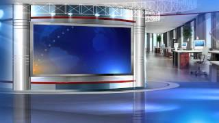 getlinkyoutube.com-free virtual set vizrt news studio blue HD