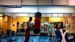 Michael Jai White training AND TREYZ WINNER
