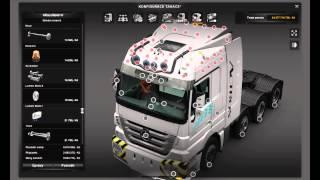 getlinkyoutube.com-[ETS2]Euro Truck Simulator 2 Mersedes Benz Pack v 2.0 MP III