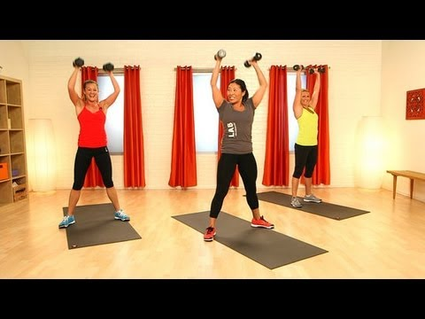 CrossFit Workout With Weights | Full-Body Exercise | Class FitSugar