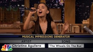 getlinkyoutube.com-Wheel of Musical Impressions with Ariana Grande