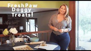 getlinkyoutube.com-Olivia Jensen Reviews the Fresh Paw Box - Healthy Doggy Treats