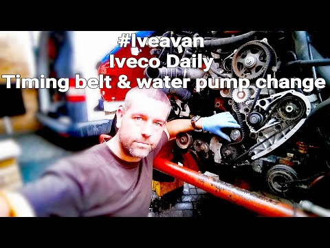 How to do a Timing Belt and Water Pump Change on the 2.3lt Iveco Daily Engine.