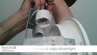 getlinkyoutube.com-Cómo colocar un downlight led en el techo