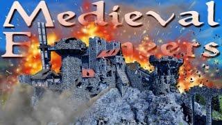 getlinkyoutube.com-BUILD & DESTROY YOUR OWN CASTLE! | Medieval Engineers #1