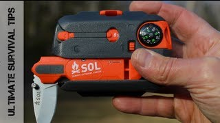 getlinkyoutube.com-NEW - SOL Origin Survival Tool Kit - REVIEW - Best Grab & Go Survival Kit for the Masses?