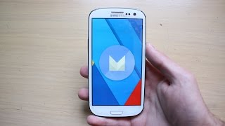 getlinkyoutube.com-CyanogenMod 13 ROM Android 6.0.1 Marshmallow for Galaxy S3 GT-I9300 Review