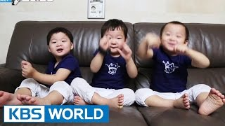 getlinkyoutube.com-The Return of Superman - The triplets' Enchanting Dances