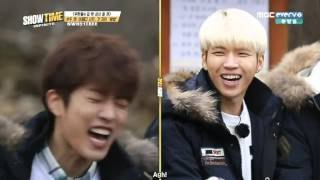 [ENG SUB] 151217 Infinite Showtime Episode 2 -  Mandu Dumpling Game Cut