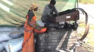 getlinkyoutube.com-Charcoal Briquettes - Converting Waste into Charcoal