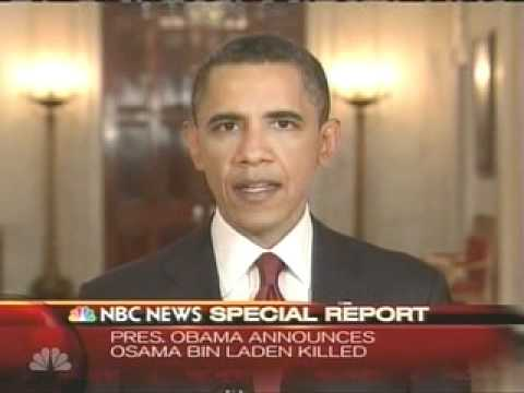 PRESIDENT OBAMA ANNOUNCES OSAMA BIN LADEN IS DEAD - NBC NEWS