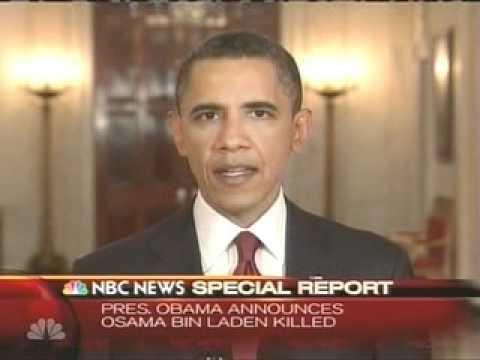 PRESIDENT OBAMA ANNOUNCES OSAMA BIN LADEN IS DEAD - NBC NEWS