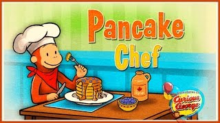getlinkyoutube.com-♡ Curious George / Jorge el Curioso - Pancake Chef Super Sweet Gameplay For Children English