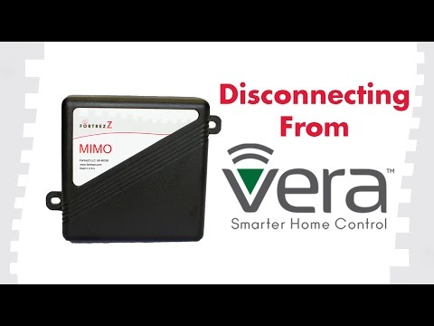 How to Remove Devices From Vera: FortrezZ MIMO2+