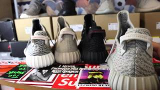 getlinkyoutube.com-How To Tell If Your Yeezy Boost 350 Are Real Or Fake! Legit Check On All 4 Pairs!