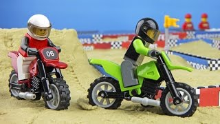 getlinkyoutube.com-Lego Motocross Race