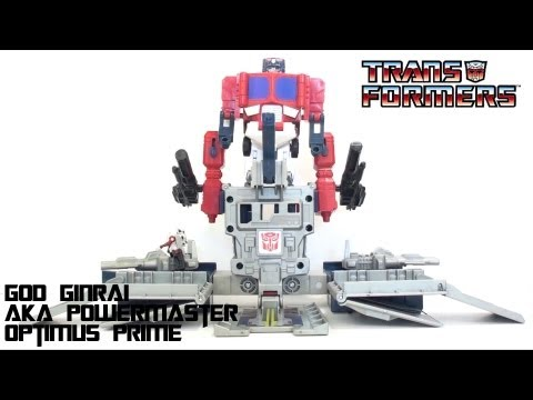 Video Review of the Takara/Tomy C-310: God Ginrai (Powermaster Optimus Prime)