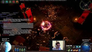 World First LVL 100 on HARDCORE League in Path Of Exile