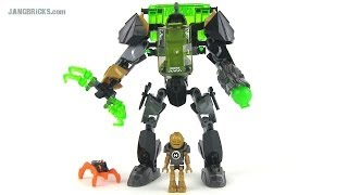 getlinkyoutube.com-LEGO Hero Factory 44019 Rocka Stealth Machine (Invasion from Below) set review!