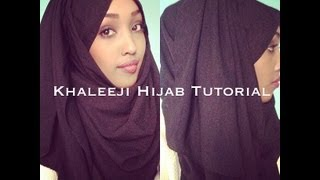 getlinkyoutube.com-Khaleeji Hijab Tutorial
