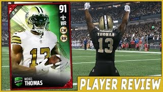 getlinkyoutube.com-TOTW MICHAEL THOMAS! | PLAYER REVIEW! | MUT 17 GAMEPLAY AND REVIEW