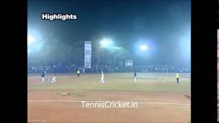 Tennis Cricket Match  Najeeb mulla Tornament