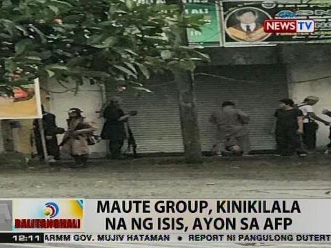 BT: AFP: Maute group, kinikilala na ng ISIS