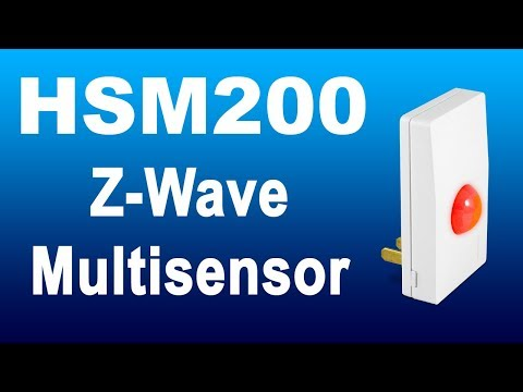 Our Z-Wave Multisensor Can Change Color When Things Happen In Your Home!