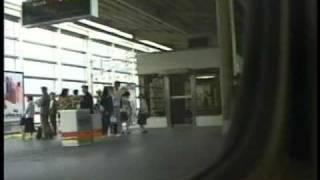 getlinkyoutube.com-のぞみ301号 京都駅通過 (車内から)