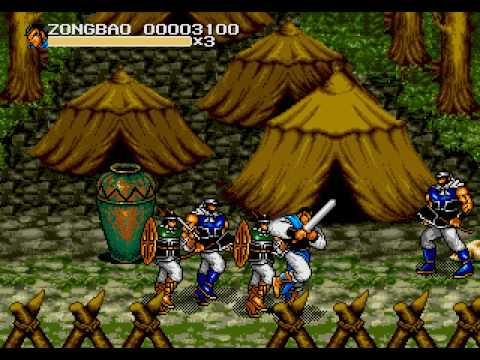 52/99: Generals of the Yang Family (Genesis) - Gameplay