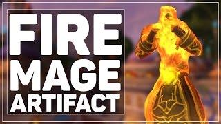 getlinkyoutube.com-WoW Legion: Fire Mage Artifact - Icecrown Shenanigans!