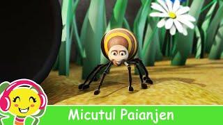 getlinkyoutube.com-Micutul Paianjen - CanteceGradinita.ro - Itsy Bitsy Spider in Romana