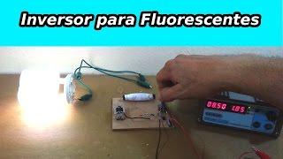 getlinkyoutube.com-Recicla Lámparas Fluorescentes Quemadas con este Inversor