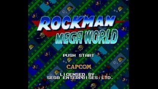 Rockman Megaworld — Full no Damage Run (Tool-Assisted)
